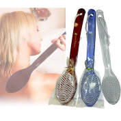 Exfoliating Body Bath Brush Back Scrub Scrubber Massager Shower Skin Spa Pet New