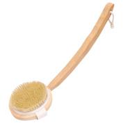 Bath Brush, Bath Body Brush with Long Detachable Handle for Wet & Dry Use