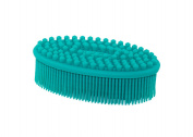 Silicone Bath & Shower Body Brush - . A LOOFAH OR WASHCLOTH - Gently deep clean and reduce cellulite! GET GLOWY, SOFT SKIN!