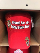 PROUD SON OF UNITED STATES MARINE Hat Baseball Cap #RED