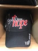 GOD GIVES HOPE I LOVE JESUS Christian Hat Baseball Cap #BLACK