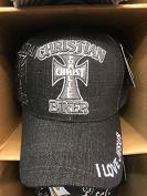 CHRISTIAN BIKER Christian Hat Baseball Cap #BLACK