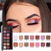 Highpot Eyeshadow Palette Makeup 14 Colours Professional Natural Smokey Cosmetic Eye Shadows