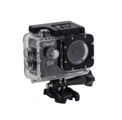 Coleman CX14WP Conquest3 4K Ultra HD Action Camera with Waterproof Housing & Mounts, black