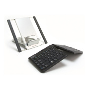Goldtouch GTLS-0099W Go!2 Bluetooth Wireless Mobile Keyboard and Laptop Stand Bundle