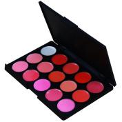 Victorcn 15 Colours Lip Gloss Palette Makeup Lipstick Palette Lipgloss Lips Lip Pigment