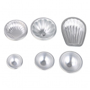 Hunzed Cake Mould, { 12pc Cake Bath Bomb Mould } { Handmade Soap Bakeware Mould } Kitchen Baking Tool Aluminium Sphere Kit