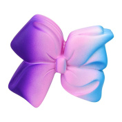 Amphia Soft Toys,Elastic Environmentally PU Jumbo Magic Squishy Stress Relief Galaxy Bow Lovely Toys Super Slow Rising Gift for Children And Adult