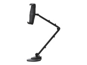 SIIG Accessory CE-MT1Y12-S1 Full Motion Easy-Adjust Universal Tablet Mount Black Retail