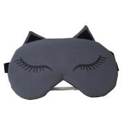 Sylvia QEr Eye Masks Cute Cartoon Sleep Mask Adjustable Shade Cover with Water Bag, Hot and Cold Double Care Healthy Health Sleep Goggles Mask for Travel Sleeping