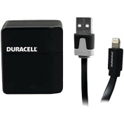 ESICPRO173 - DURACELL PRO173 1-Amp USB Wall Charger with Lightning(R) Cable