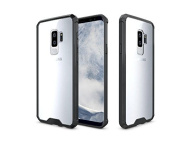 ARSUE Galaxy S9+ Plus Case Ultra Slim Liquid Crystal Clear Transparent Lightweight Scratch Resistant Premium Hybrid Protective Cover for Samsung Galaxy S9 Plus (16cm ) 2018 Release - Black