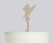 Tinkerbell - Acrylic Cake Topper -Wood Acrylic