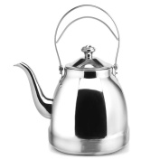 GAOLILI 304 Stainless Steel Kettle Pot Teapot 1.5L Induction Cooker General With Filter Small Kettle Kung Fu Teapot