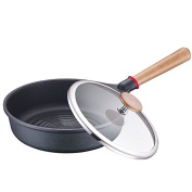 SDS-COM Pan with Frying Pan and More Non-Stick Sootless 26Cm