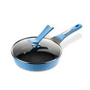 SDS-COM Blue Non-Stick Pan without Frying Pan Wok 24Cm