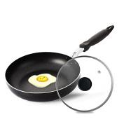 SDS-COM Smoke-Free Non-Stick Frying Pan Roast Pan Egg Pan 26Cm
