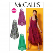 "McCall Pattern Company M6954 Misses' Dresses, Size ZZ ""LRG-XLG-XXL"""