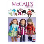 McCall Pattern Company M7006 Clothes for 46cm Doll