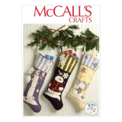 McCall's Christmas Stockings Pattern - Size