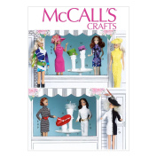 """McCall's Clothes and Accessories For 11½"""" Doll Pattern - Size"""