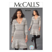 McCall's Patterns M7244 Misses' Dress, A5