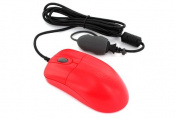Silver Storm Medical Grade 1,000Dpi Optical Mouse With Scroll Wheel - Dishwashe