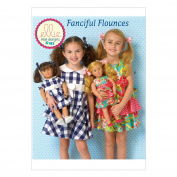 KWIK-SEW PATTERNS K0193 Children's/Girls'/Dolls' Dresses, All Sizes in One Envelope