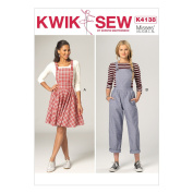 KWIK-SEW PATTERNS K4138 Misses' Jumper & Jumpsuit, All Sizes