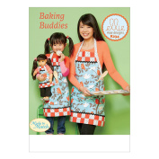 McCall Pattern K0234-Osz Doll Lined Aprons with Patch Pockets a