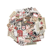 Ephemera Pack - Snippets by Tim Holtz Idea-ology, Various Sizes, 111 Pieces