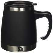 Trudeau Maison Umbria Desk Mug, 440ml, Black
