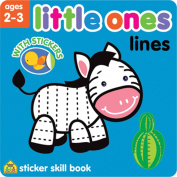 School Zone Little Ones Sticker Skill Book, Lines