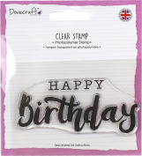 Dovecraft Clear Stamp-Happy Birthday