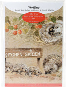 Pollyanna Pickering Sketchbook A4 Die-Cut Decoupage Card Kit-Ch.5 British Wildlife Hedgehog