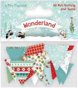 Helz Cuppleditch Wonderland Die Cut Bunting-