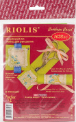 Travel Kit Forget Me Not Counted Cross Stitch Kit-14 Count