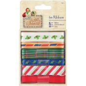 Papermania Letter To Santa Ribbon 6/Pkg-1M Each