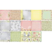 ScrapBerry's The Art Of Nature Paper Pack 30cm x 30cm 8/Pkg-
