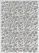 Ultimate Crafts Bohemian Bouquet Embossing Folder 13cm x 18cm -Speckled Flowers