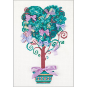 Tree Of Desire Counted Cross Stitch Kit-21cm x 30cm 14 Count