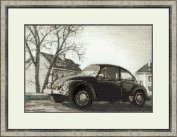 The Beetle Counted Cross Stitch Kit-15x10.25 14 Count