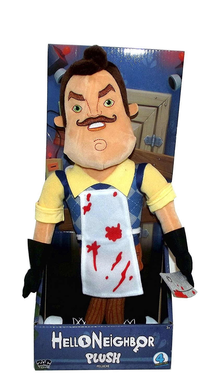 (Holding a Butcher Knife With Bloody Apron) - Hello Neighbour Large Neighbour