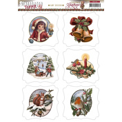 Find It Trading Amy Design Topper Sheet-Christmas Greetings