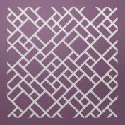 "Ultimate Crafts Background Gallery Die-Mosaic, 1.2m""X3.20cm"
