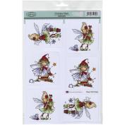 Hobby House Christmas Magic Sugar Nellie Topper Sheet, 22cm by 31cm
