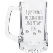 Pet My Dog Beer Mug 440ml-