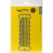Waffle Flower Crafts 310131 Die-7 Skeins Floss Bobbin