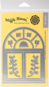 Waffle Flower Die-A2 Arch Window