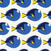 Disney Finding Dory-Camelot Design Studio 2.5cm Cotton D/R-Dory Dot - White